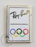 Ray Ban Olympic Games Sponsor - Advertising Enamel Pin Badge #PLS - Juegos Olímpicos