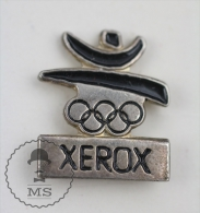 Xerox Barcelona 1992 Olympic Games Sponsor - Advertising Pin Badge #PLS - Juegos Olímpicos