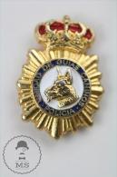 Spanish Police Dog Pin Badge #PLS - Policia