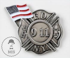 New York Fire Department - United States Pin Badge #PLS - Bomberos