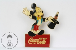 Mickey Mouse Magician - Coca Cola Advertising  Pin Badge - Juegos Olímpicos