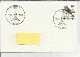 4800 Verviers 1 .   6-1-1992 - Guichet Philatélique - Timbre N° 2351 A. Buzin - Marcophilie