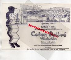 27 - HONDOULIVE - BUVARD COTON POLIVE - - Buvards, Protège-cahiers Illustrés