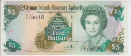 Cayman Island 5 Dollars 2005 Pick 34b UNC