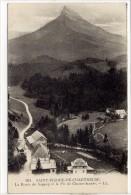 Carte Postale Ancienne Saint Pierre De Chartreuse - Route Du Sappey Et Le Pic De Chamechaude - Other Municipalities