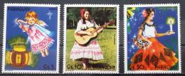 Paraguay,1985, Mi: 3832/34, (MH)(*) - Christmas