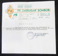 IPK ZADRUGAR - AGRICULTURAL COOPERATIVE 1972 Sombor (Serbia) TRACTOR Tracteur Traktor, Agronomy Agriculture Agricole - Tractors