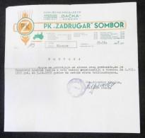 IPK ZADRUGAR - AGRICULTURAL COOPERATIVE 1972 Sombor (Serbia) TRACTOR Tracteur Traktor, Agronomy Agriculture Agricole - Traktoren
