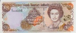 Cayman Island 25 Dollars 2005 Pick 36 UNC