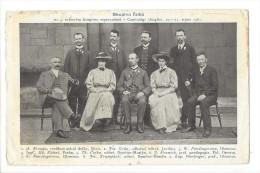 12857 -    Congrès à Cambridge 1907 - Esperanto
