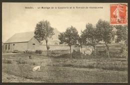 HESDIN Le Manège De La Cavalerie Et Le Terrain De Manoeuvres (Herbay) Pas De Calais (62) - Hesdin