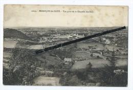 CPA Tachée - Besançon Les Bains - Vue Prise De La Chapelle Des Buis - Besancon