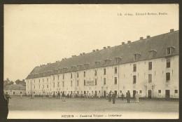 HESDIN Rare Caserne Tripier Interieur (Herbay) Pas De Calais (62) - Hesdin