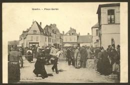 HESDIN Place Garbé (Herbay) Pas De Calais (62) - Hesdin