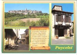 Puycelsi (Albi-Tarn)-Multivues-Village Fortifié - Albi