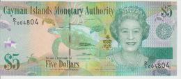 Cayman Island 5 Dollars 2010 Pick 39 UNC