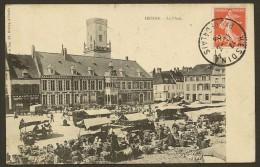 HESDIN Rare La Place (Herbay) Pas De Calais (62) - Hesdin