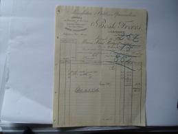 Facture Laissey Pres Besancon Bost Manufacture Outils - 1900 – 1949