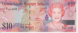 Cayman Island 10 Dollars 2010 Pick 40 UNC