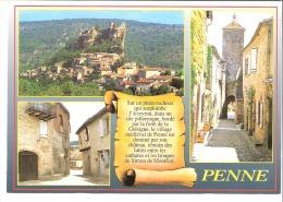 Penne (Castelnau De Montmiral-Albi-Tarn)-Multivues-Village Médiéval-fortifié-Forêt De Grésigne - Castelnau De Montmirail