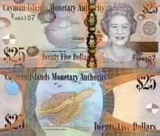 Cayman Island 25 Dollars 2010 Pick 41 UNC