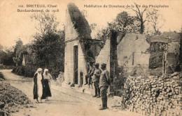 BRETEUIL -Bombardement De 1918 - Habitation Du Directeur De La Compagnie Des Phosphates - Breteuil