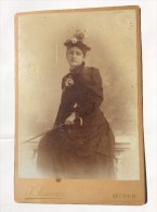 OLD CARDBOARD PHOTO    JOHAN SENONER    MERAN - Alte (vor 1900)