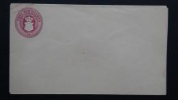 Germany - Mecklenburg-Schwerin - 1864/66 - Mi: U13** - postal stationery  - look scans