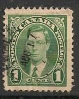 Timbres - Amérique - Canada - 1937 - 1 Cent - - Sin Clasificación