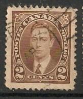 Timbres - Amérique - Canada - 1937 - 2 Cents - - Sin Clasificación