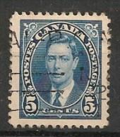 Timbres - Amérique - Canada - 1937 - 5 Cents - - Sin Clasificación