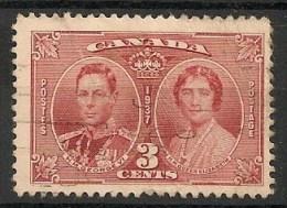 Timbres - Amérique - Canada - 1937 - 3 Cents - - Sin Clasificación