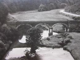 Photo Réelle, HOUFFALIZE, Pont De Rensiwez, IMAGE INVERSÉE !!! PHOTO NELS  ORIGINALE, Archives TOURING CLUB (voir Verso) - Houffalize