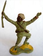 FIGURINE CRESCENT TOYS SOLDAT SIKHS FUSIL EN L'AIR - Army