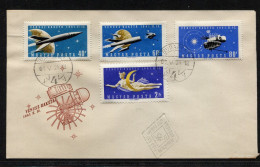 Hungary, Ungarn  FDC,  1961,  Space - Space