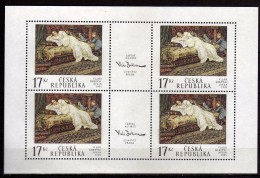 Czech Republic 2002 The 80th Anniversary Of The Death Of Vlaho Bukovac(1855-1922).Art.MNH - Czech Republic