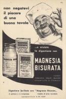# MAGNESIA BISURATA MANETTI & ROBERTS 1950s Italy Advert Pubblicità Reklame Digestive Medicine Medecine Medizin Medicina - Publicités