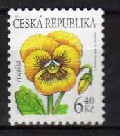 Czech Republic 2002 Flowers.MNH - Neufs