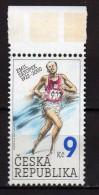 Czech Republic 2002 Emil Zatopek, Czech Sportsman Of The 20th Century.MNH - Ongebruikt