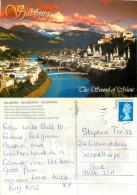 Salzburg, Austria Postcard Posted 2004 Stamp - Salzburg Stadt