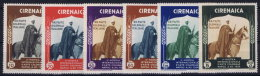 Italy:  Cirenaica  Sa Nr 93 - 98 MNH/** - Cirenaica