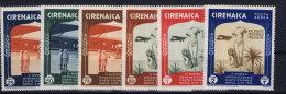 Italy:  Cirenaica  Sa Nr A24 - A29 MNH/** - Cirenaica