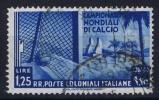 Italy:  Emissioni Generali  Coupe Du Monde Football  Sa 48 Used  1394 - Italy