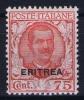 Italy:  Eritrea  Sa  113 MH/* Signed/ Signé/signiert/ Approvato - Eritrea