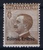 Italy:  Eritrea  Sa  38 MH/* 1916 - Eritrea