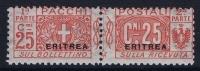 Italy:  Eritrea  Sa  Pacchi Postali  Nr 3  MH/* - Eritrea