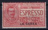 Italy:  Levant La Canea  Sa  Expresso Nr 1 MNH/** - 11. Oficina De Extranjeros