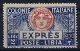 Italy: Libia Sa Expres E8 MNH/** - Libye