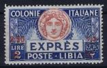 Italy: Libia Sa Expres E10 MNH/** - Libya