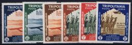 Italy: Tripolitana  Sa NrA41 - A46  MNH/**  1934 - Tripolitania
